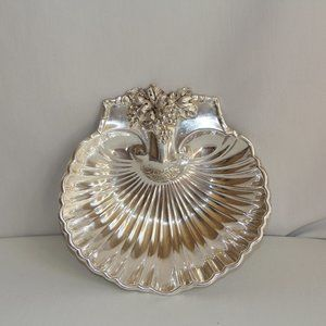 Vintage Reed & Barton Silver-Plated Shell Bowl